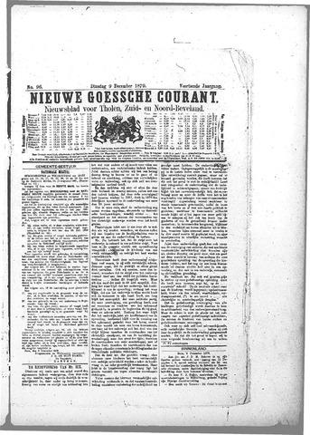 Nieuwe Goessche Courant 1879-12-09