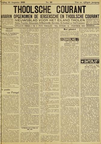 Ierseksche en Thoolsche Courant 1936-08-14