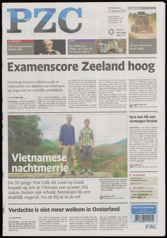 Provinciale Zeeuwse Courant 2013-08-21