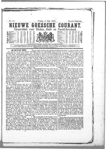 Nieuwe Goessche Courant 1872-07-05
