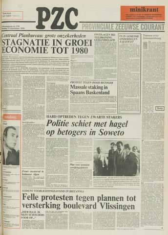 Provinciale Zeeuwse Courant 1976-09-14