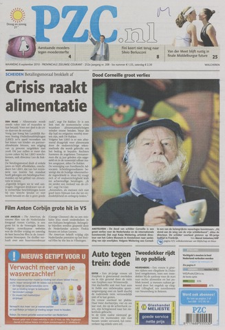 Provinciale Zeeuwse Courant 2010-09-06