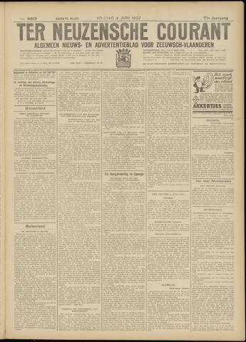 Ter Neuzensche Courant. Algemeen Nieuws- en Advertentieblad voor Zeeuwsch-Vlaanderen / Neuzensche Courant ... (idem) / (Algemeen) nieuws en advertentieblad voor Zeeuwsch-Vlaanderen 1937-06-04