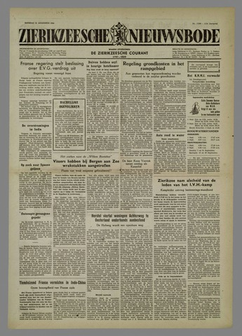 Zierikzeesche Nieuwsbode 1954-08-31