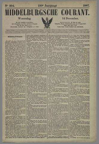 Middelburgsche Courant 1887-12-14