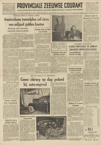 Provinciale Zeeuwse Courant 1957-06-14