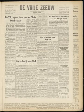 de Vrije Zeeuw 1951-02-21