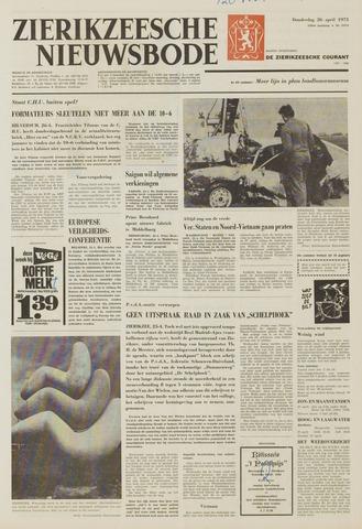 Zierikzeesche Nieuwsbode 1973-04-26