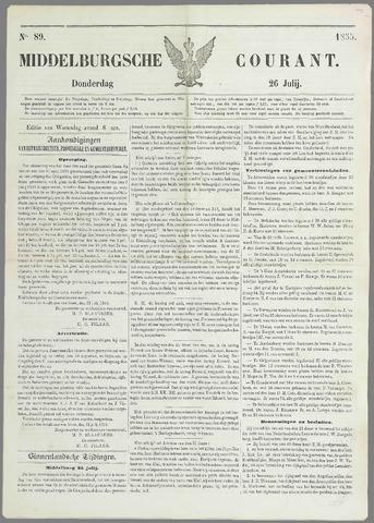 Middelburgsche Courant 1855-07-26