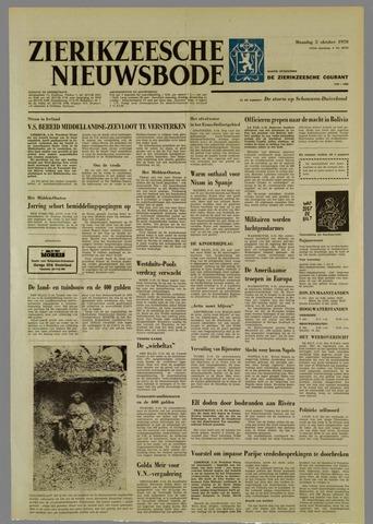 Zierikzeesche Nieuwsbode 1970-10-05