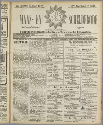 Maas- en Scheldebode 1919