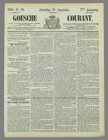 Goessche Courant 1890-08-23