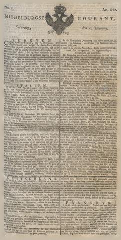 Middelburgsche Courant 1777-01-04