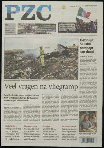 Provinciale Zeeuwse Courant 2014-07-18