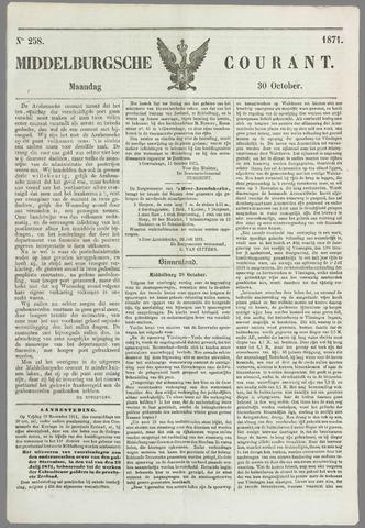 Middelburgsche Courant 1871-10-30