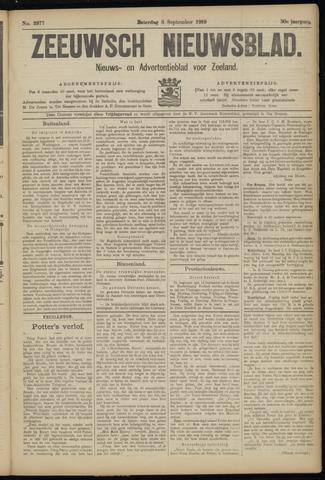 Ter Neuzensch Volksblad. Vrijzinnig nieuws- en advertentieblad voor Zeeuwsch- Vlaanderen / Zeeuwsch Nieuwsblad. Nieuws- en advertentieblad voor Zeeland 1919-09-06