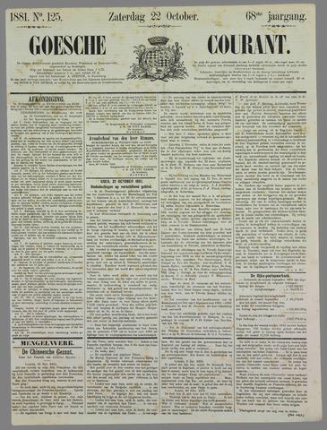 Goessche Courant 1881-10-22