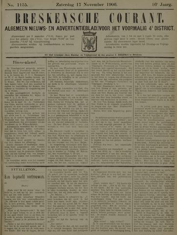 Breskensche Courant 1906-11-17