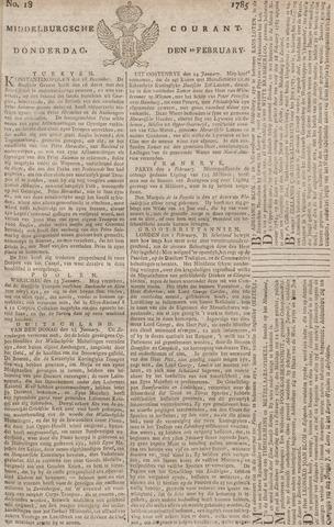 Middelburgsche Courant 1785-02-10