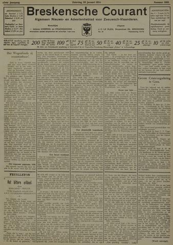 Breskensche Courant 1934-01-20