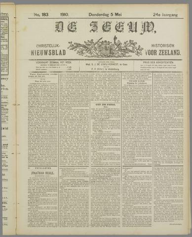 De Zeeuw. Christelijk-historisch nieuwsblad voor Zeeland 1910-05-05