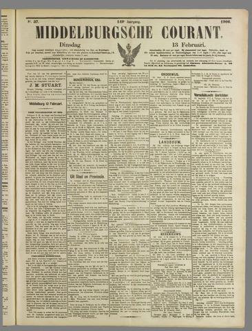 Middelburgsche Courant 1906-02-13