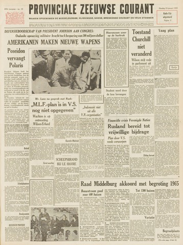 Provinciale Zeeuwse Courant 1965-01-19