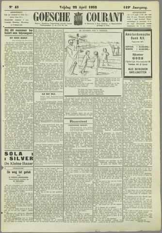 Goessche Courant 1932-04-22