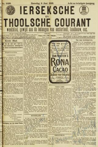 Ierseksche en Thoolsche Courant 1912-06-08