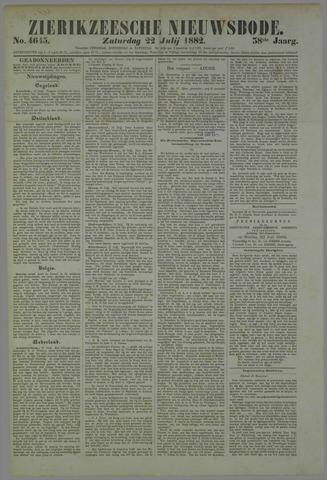 Zierikzeesche Nieuwsbode 1882-07-22