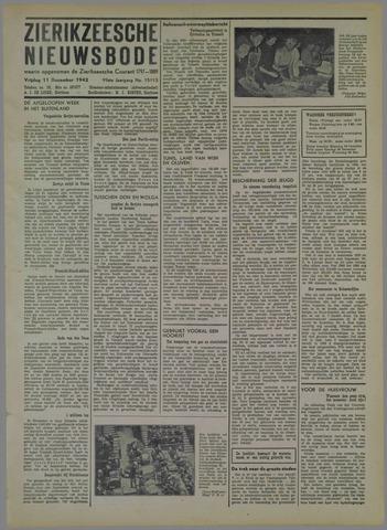 Zierikzeesche Nieuwsbode 1942-12-11