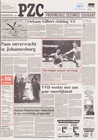 Provinciale Zeeuwse Courant 1988-09-15