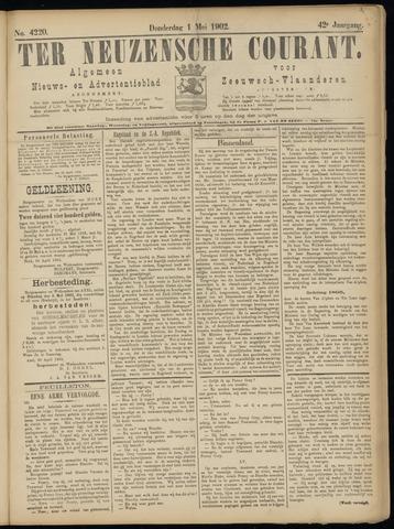 Ter Neuzensche Courant. Algemeen Nieuws- en Advertentieblad voor Zeeuwsch-Vlaanderen / Neuzensche Courant ... (idem) / (Algemeen) nieuws en advertentieblad voor Zeeuwsch-Vlaanderen 1902-05-01