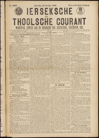 Ierseksche en Thoolsche Courant 1916-10-21