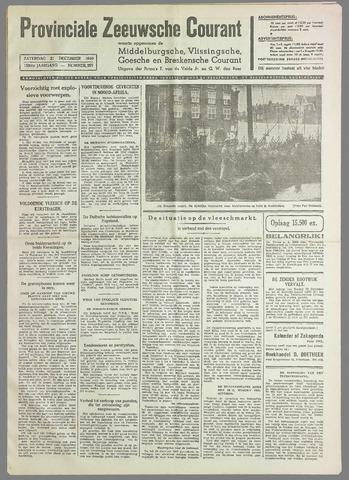 Provinciale Zeeuwse Courant 1940-12-21