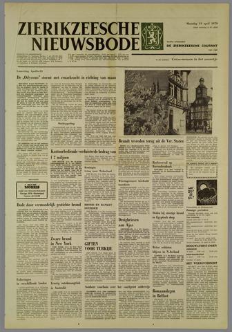 Zierikzeesche Nieuwsbode 1970-04-13