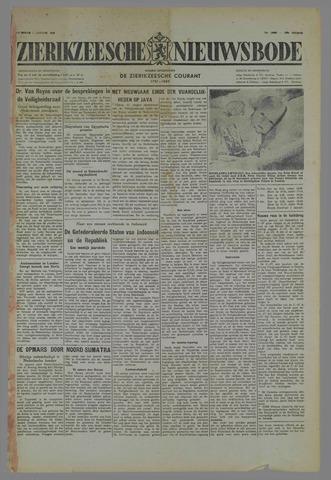 Zierikzeesche Nieuwsbode 1949