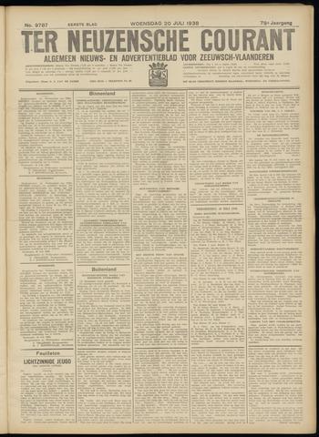Ter Neuzensche Courant. Algemeen Nieuws- en Advertentieblad voor Zeeuwsch-Vlaanderen / Neuzensche Courant ... (idem) / (Algemeen) nieuws en advertentieblad voor Zeeuwsch-Vlaanderen 1938-07-20