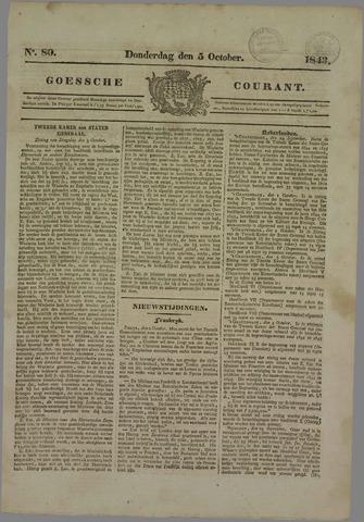 Goessche Courant 1843-10-05