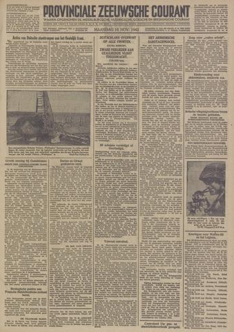 Provinciale Zeeuwse Courant 1942-11-16