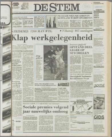 de Stem 1982-08-18