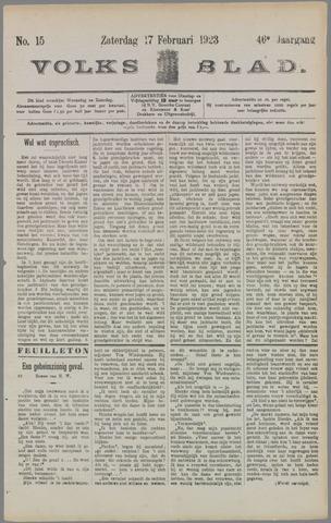 Volksblad 1923-02-17