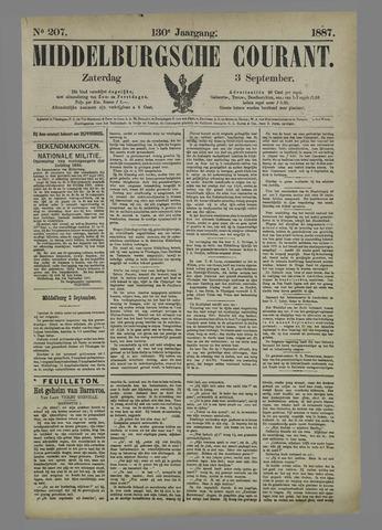 Middelburgsche Courant 1887-09-03