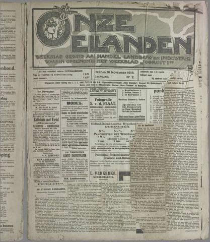 Onze Eilanden 1918-11-16