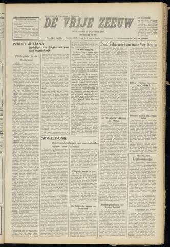 de Vrije Zeeuw 1947-10-15