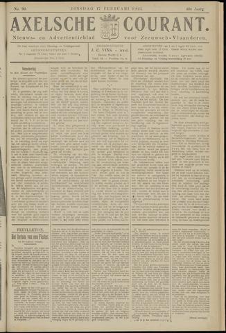 Axelsche Courant 1925-02-17