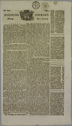 Goessche Courant 1822-01-07