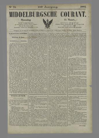 Middelburgsche Courant 1882-03-27
