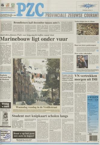 Provinciale Zeeuwse Courant 1999-09-09