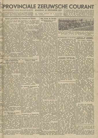 Provinciale Zeeuwse Courant 1943-12-20
